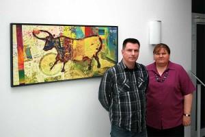 Frau Dr. Rahn und Manuel Stammwitz, © AGRAVIS Raiffeisen AG