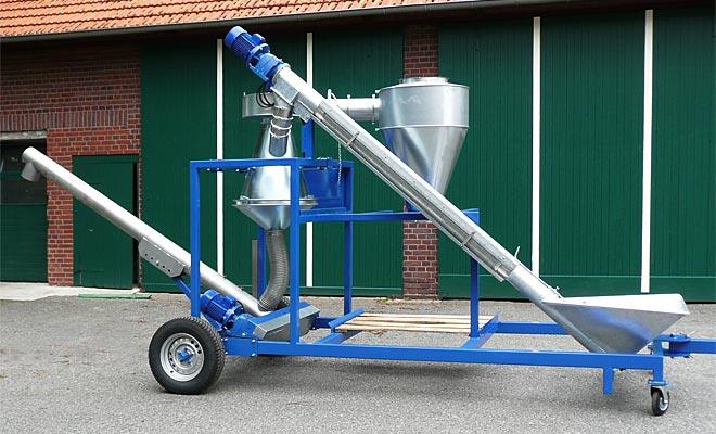 Konservierungsanlage mit Vorreinigung, &copy: Ahlmer Maschinen- und Gerätebau