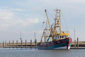 Fischerboot auf Hooge, © getreidekonservieren.de, © getreidekonservieren.de