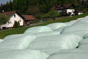Silorundballen in Bayern, © getreidekonservieren.de