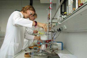 Chemielaborantinnen, © LWK NRW