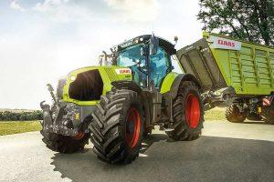Traktor Claas AXION, © Claas
