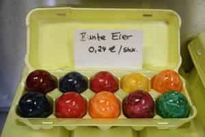 bunte Ostereier, © getreidekonservieren.de