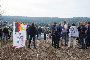 Kundgebung in Bayreuth, © BDM