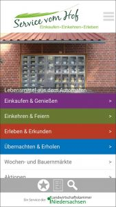 """Service vom Hof""-App, © LWK Niedersachsen"