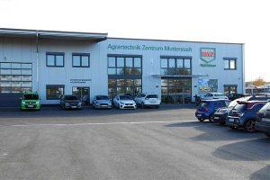 Das neue RWZ-Agrartechnik-Zentrum in Mutterstadt, © RWZ  Rhein-Main eG