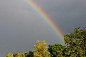Regenbogen, © getreidekonservieren.de
